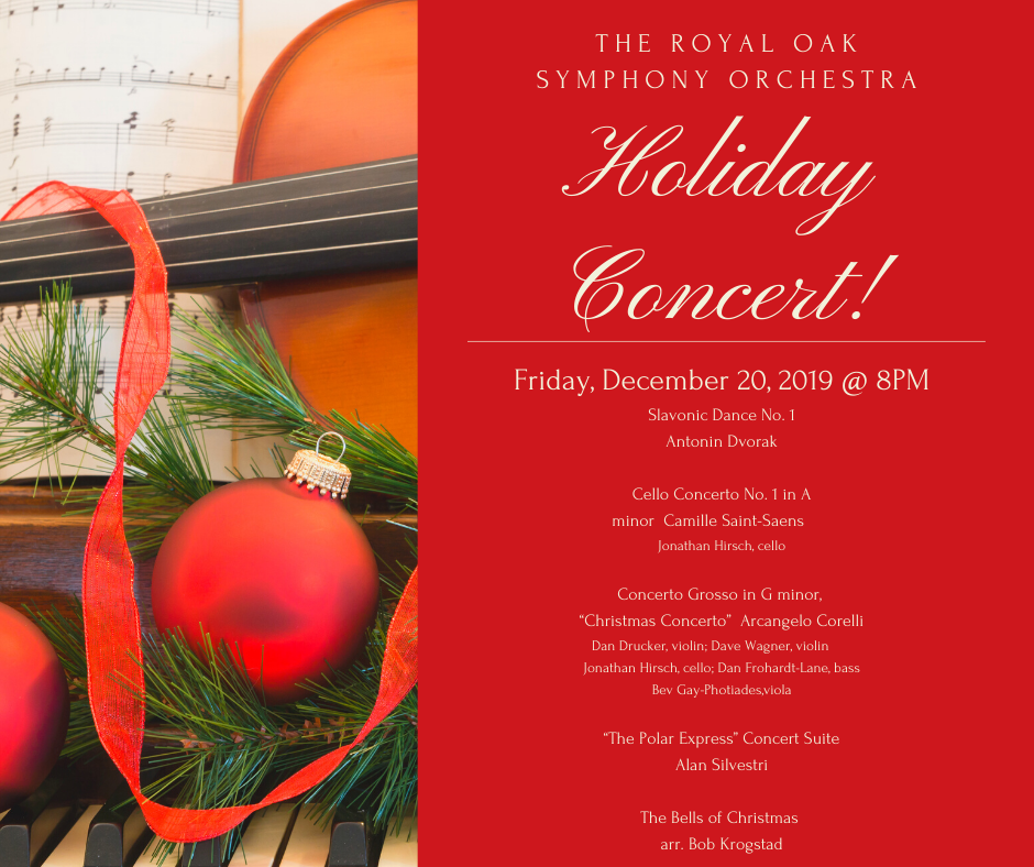 Holiday Concert 2019 Information